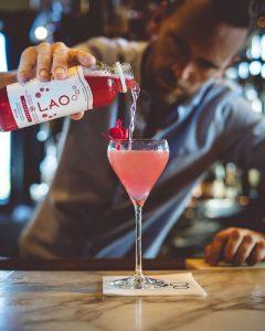 Lao Kombucha Cocktail, pur vodka, moscow mule, quebec, canada