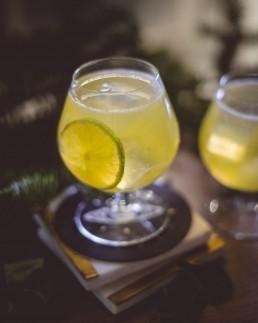 Lao Kombucha, cocktail, gin, distillerie stadaconé, quebec, canada